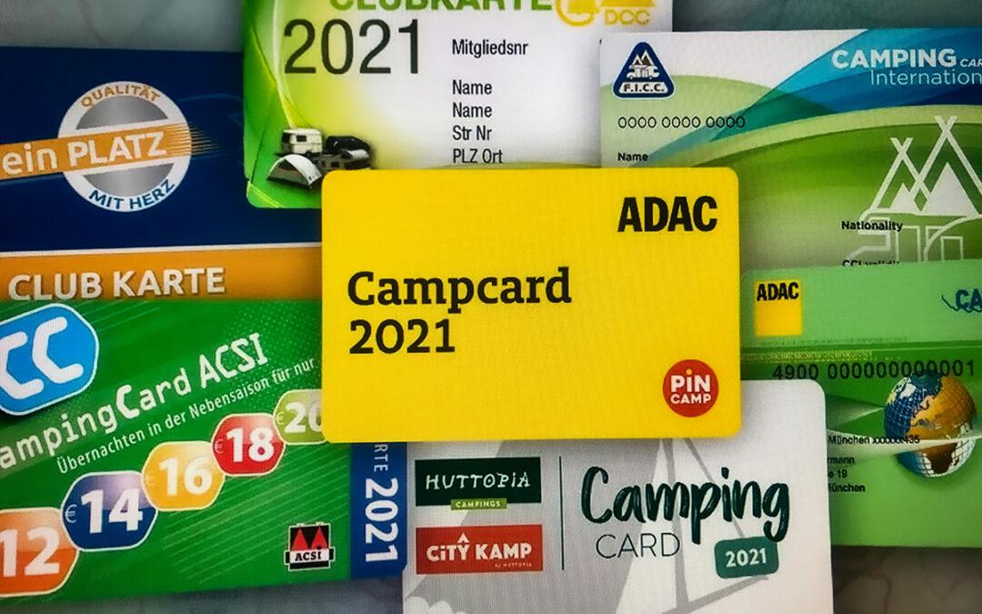 Campingkarten-Vorteile und Sparpotentiale